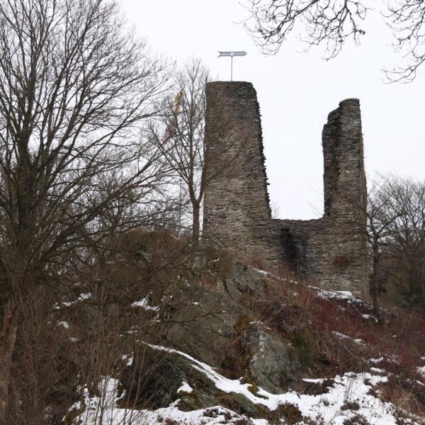 Haller Ruïne - Monschau - Duitsland