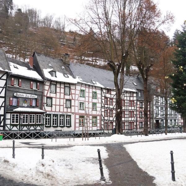 Markt van Monschau - Duitsland