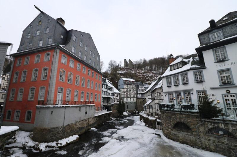 Rotes Haus - Monschau - Duitsland