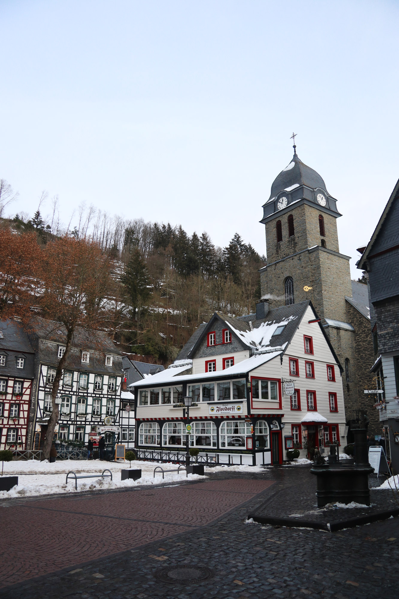 Stedentrip Monschau - Aukloster
