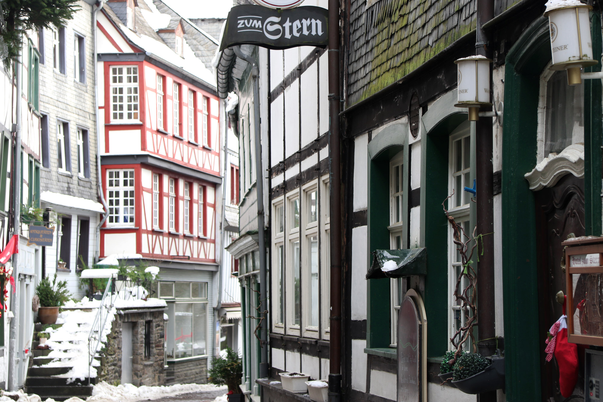 Stedentrip Monschau - Vakwerkhuizen