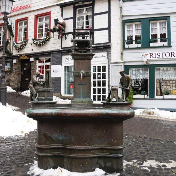 Weberbrunnen - Monschau - Duitsland