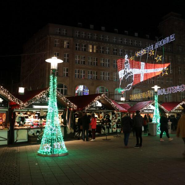 Internationale Kerstmarkt van Essen - Essen - Duitsland