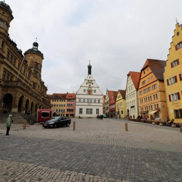 Marktplatz - Rothenburg ob der Tauber - Duitsland