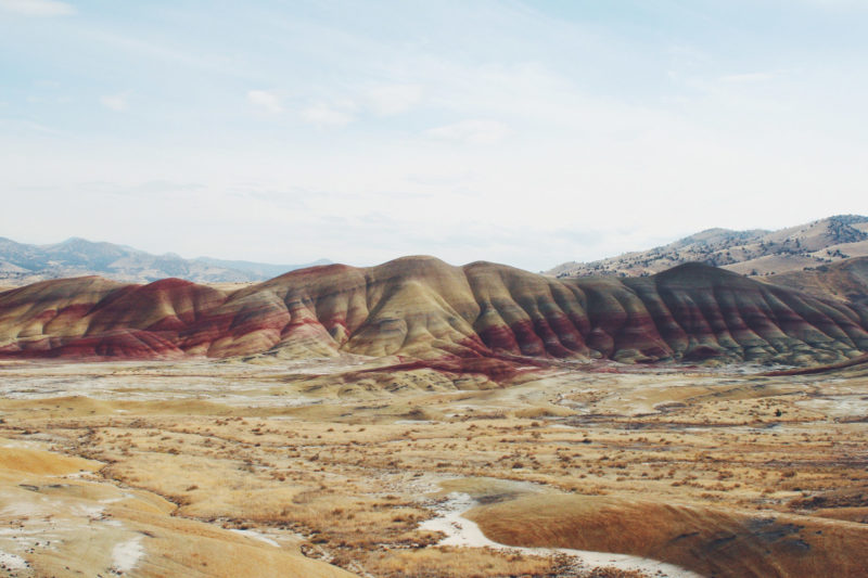 Op mijn wishlist: Painted Hills in Oregon