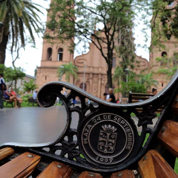 Plaza 24 de Septiembre - Santa Cruz de la Sierra - Bolivia