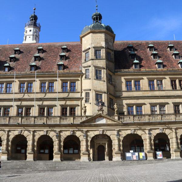 Rathaus - Rothenburg ob der Tauber - Duitsland