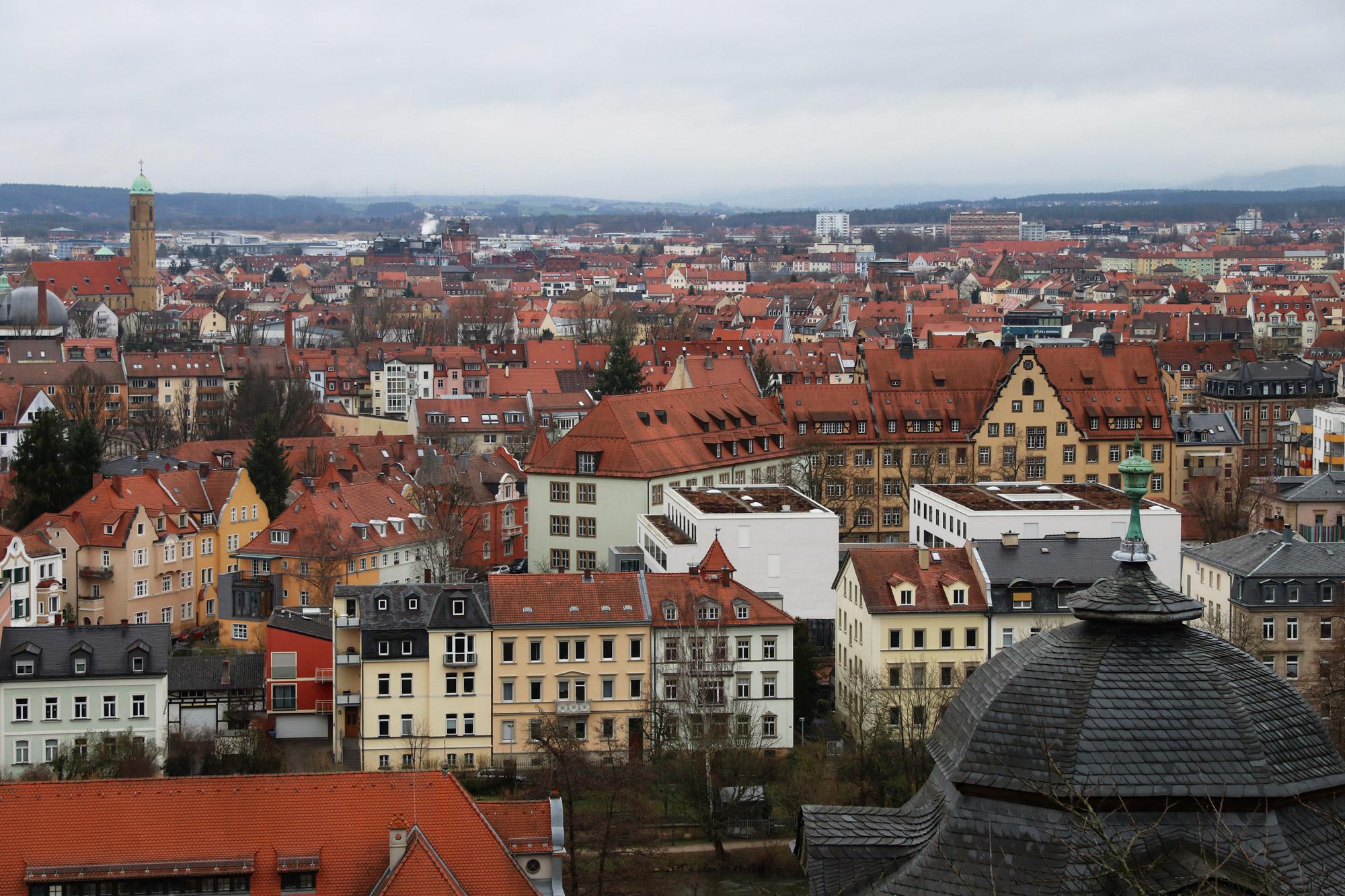 Bamberg in 10 beelden - Uitzicht vanaf de Michaelsberg