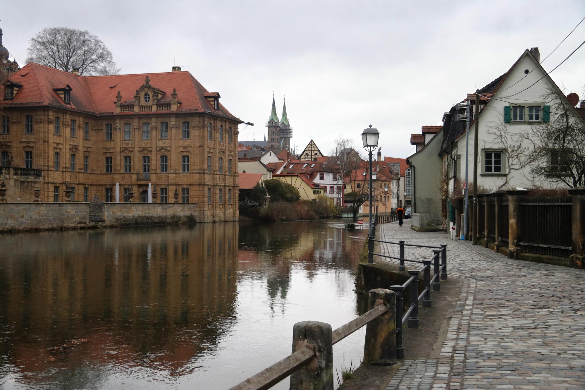 Bamberg in 10 beelden - Wandelen langs het water