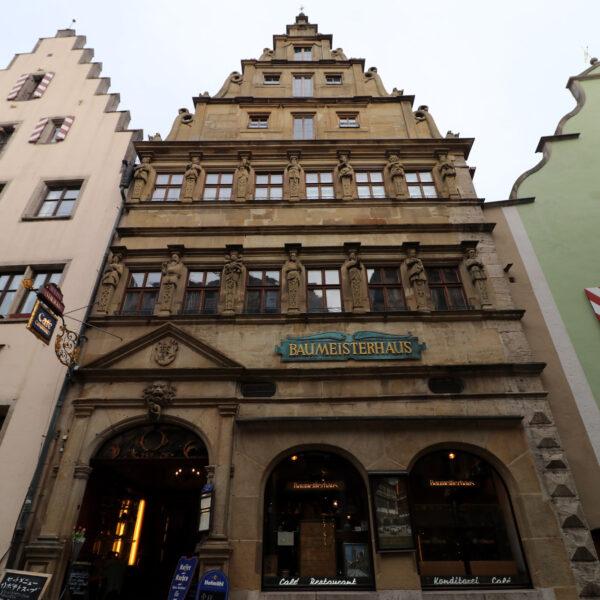 Baumeisterhaus - Rothenburg ob der Tauber - Duitsland