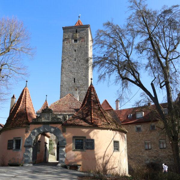 Burgtor & Turm - Rothenburg ob der Tauber - Duitsland