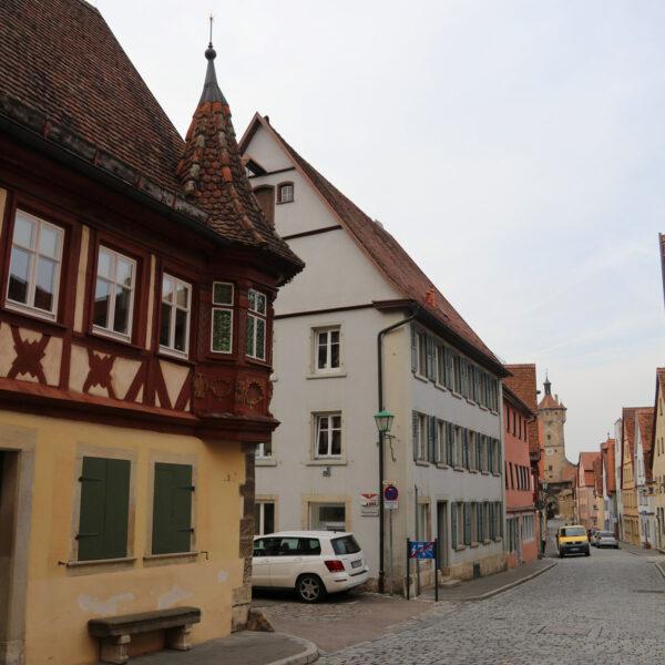 Feuerleinserker - Rothenburg ob der Tauber - Duitsland