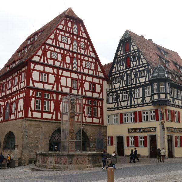 Fleisch & Tanzhaus - Rothenburg ob der Tauber - Duitsland