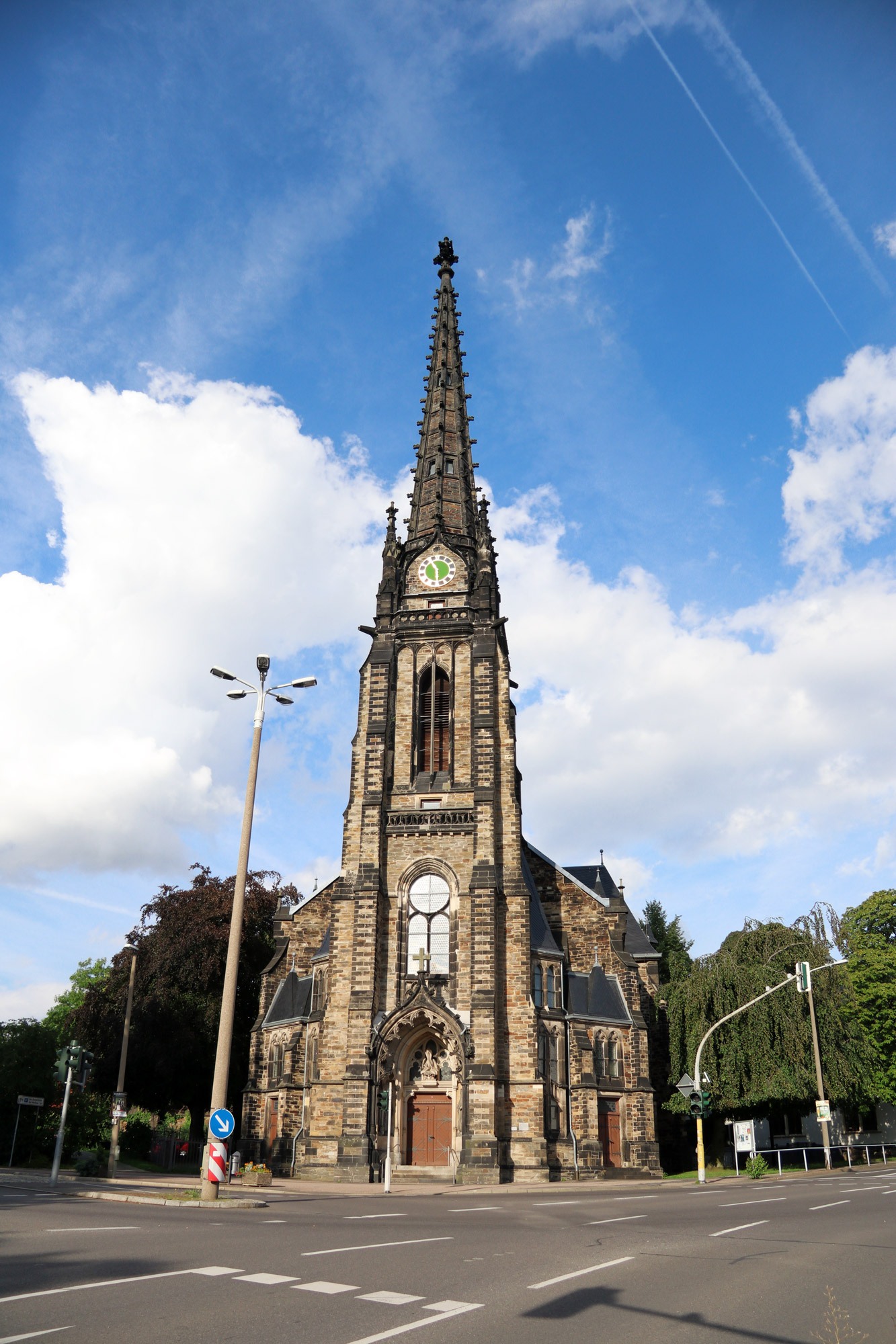 Freiberg, de zilverstad in Saksen - Jakobikirche