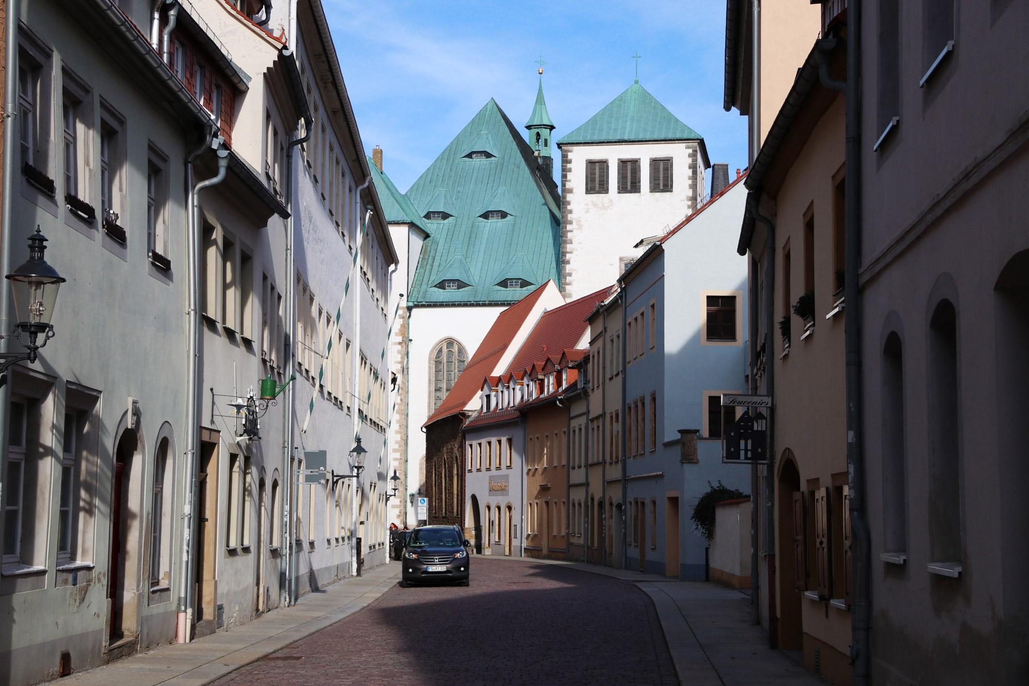 Freiberg, de zilverstad in Saksen - Leuke straatjes