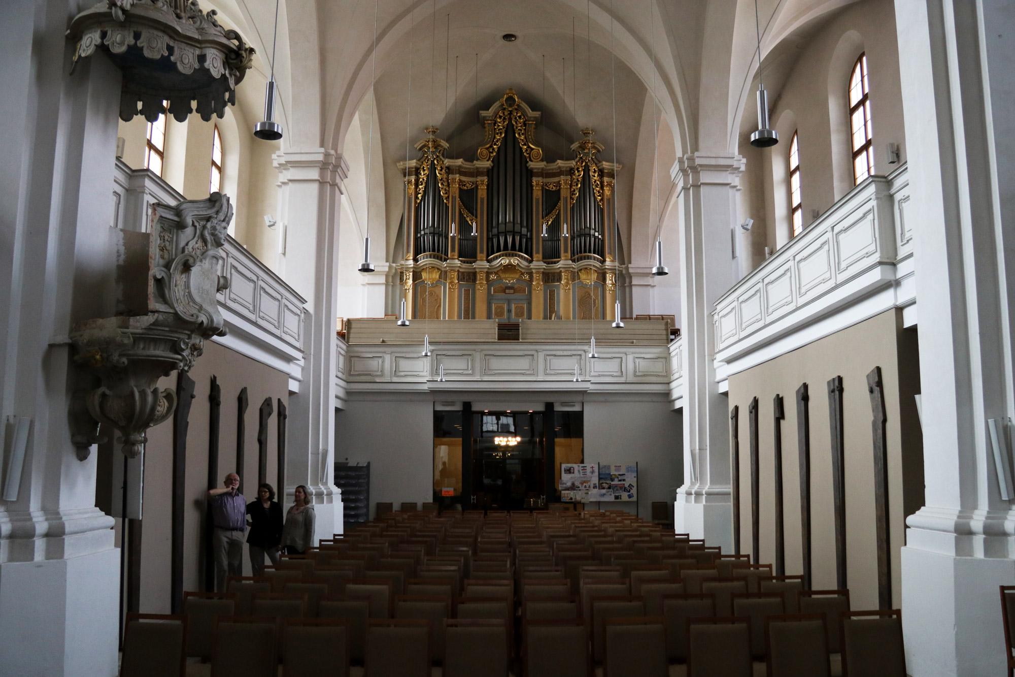 Freiberg, de zilverstad in Saksen - Petrikirche