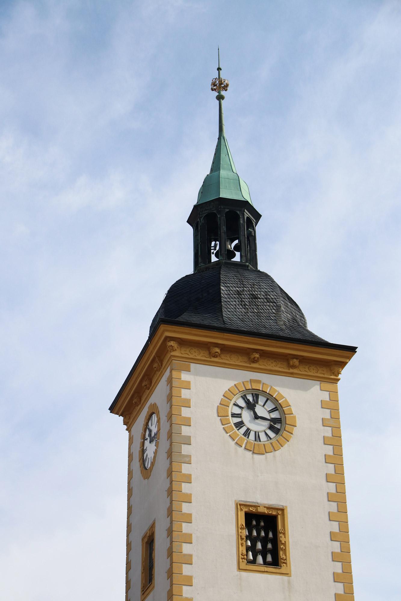 Freiberg, de zilverstad in Saksen - Rathaus