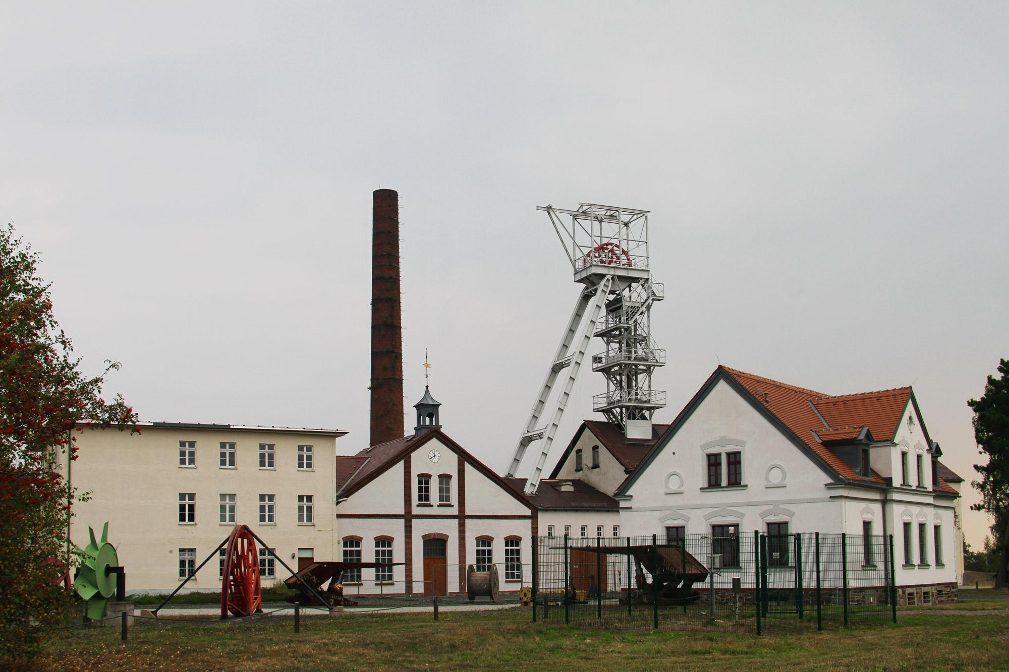 Freiberg, de zilverstad in Saksen - Reiche Zeche