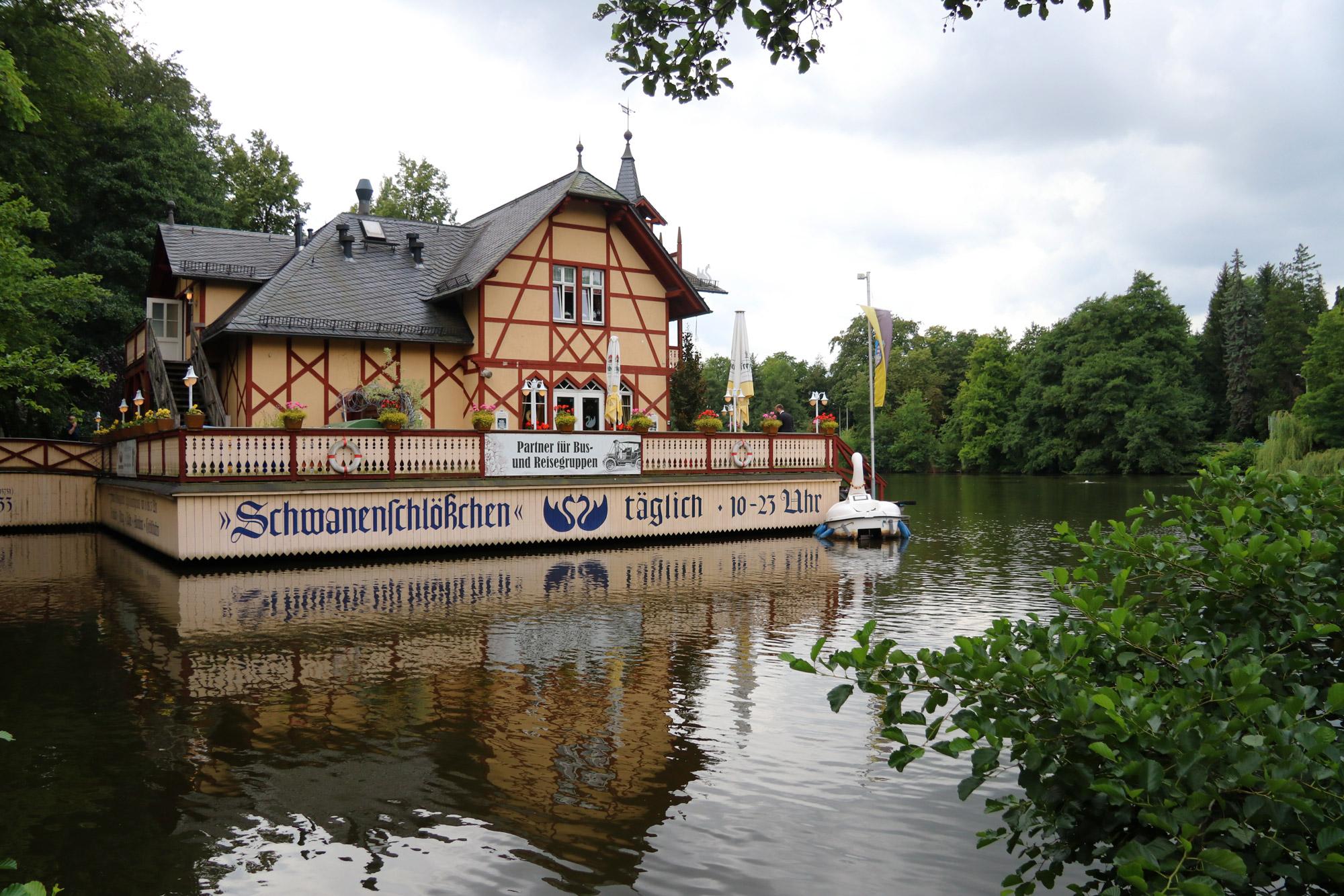 Freiberg, de zilverstad in Saksen - Schwanenschlösschen