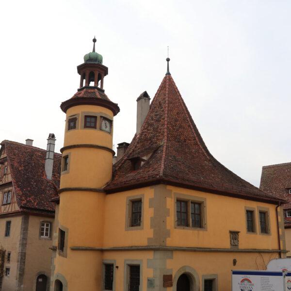 Hegereiterhaus - Rothenburg ob der Tauber - Duitsland