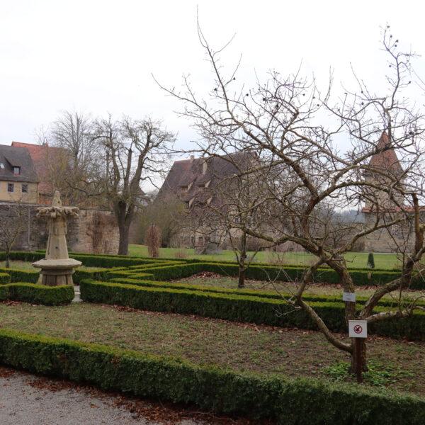 Klostergarten - Rothenburg ob der Tauber - Duitsland