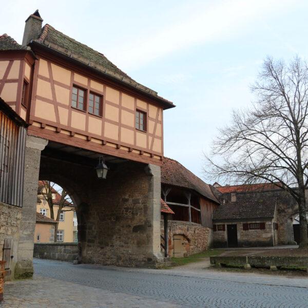Röderturm & Rödertor - Rothenburg ob der Tauber - Duitsland