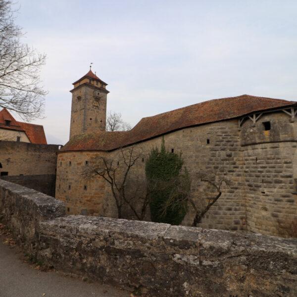 Spitalbastei & Spitaltor - Rothenburg ob der Tauber - Duitsland