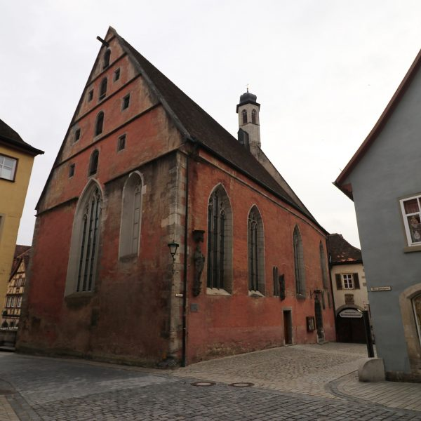 St. Johannis-Kirche - Rothenburg ob der Tauber - Duitsland