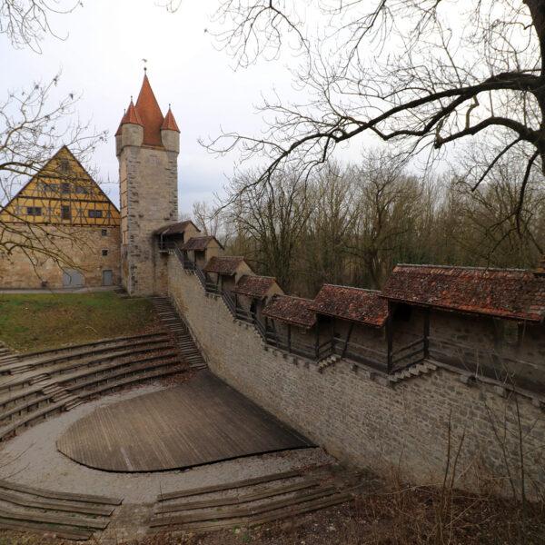 Stöberleinsturm - Rothenburg ob der Tauber - Duitsland