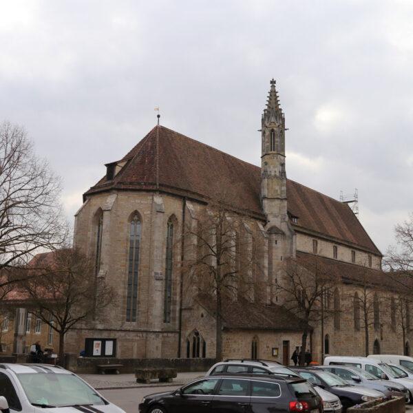 Franziskanerkirche - Rothenburg ob der Tauber - Duitsland