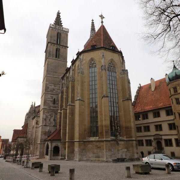 St. Jakobs Kirche - Rothenburg ob der Tauber - Duitsland