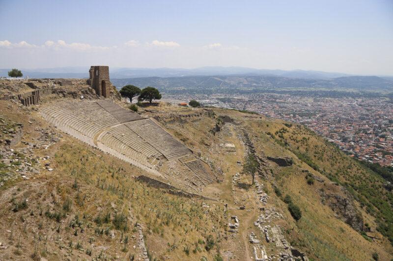 Turkije reisverslag: Bergama en Ayvalik - Het theater