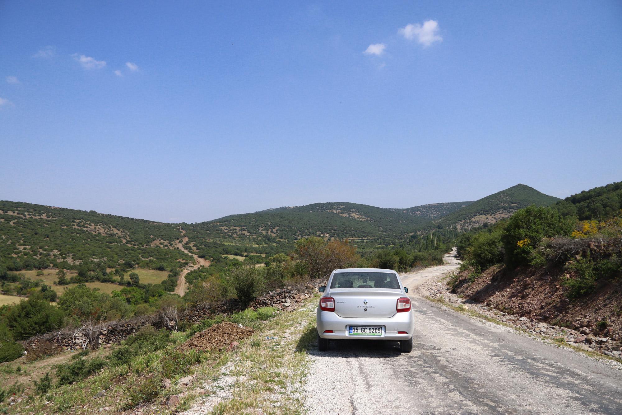 Turkije reisverslag: Bergama en Ayvalik - Verdwaald in het bergachtige landschap