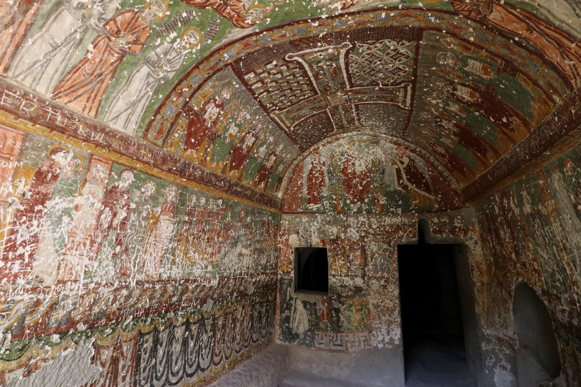 Turkije reisverslag: Laatste dag in Cappadocië - Wandeling in Ihlara Vadisi