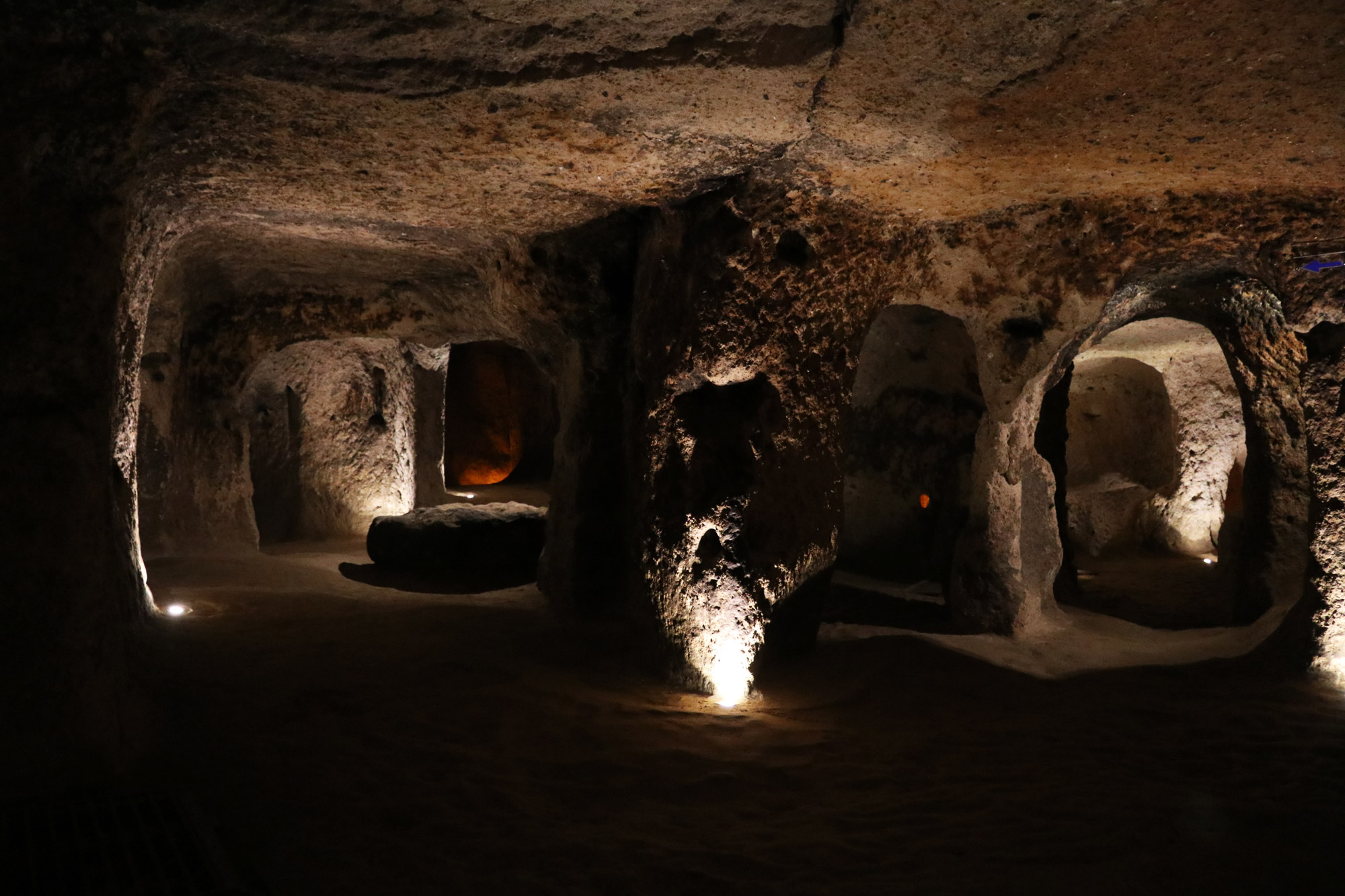 Turkije reisverslag: Laatste dag in Cappadocië - Ondergrondse stad van Kaymakli