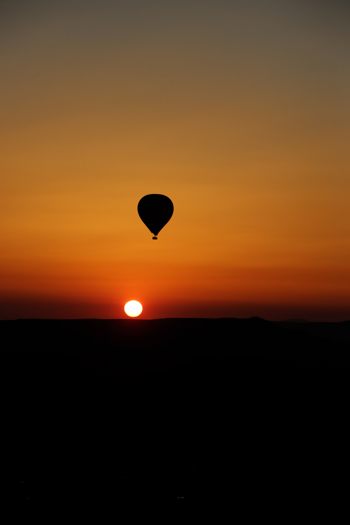 Turkije reisverslag: Laatste dag in Cappadocië - Luchtballonnen boven Cappadocië