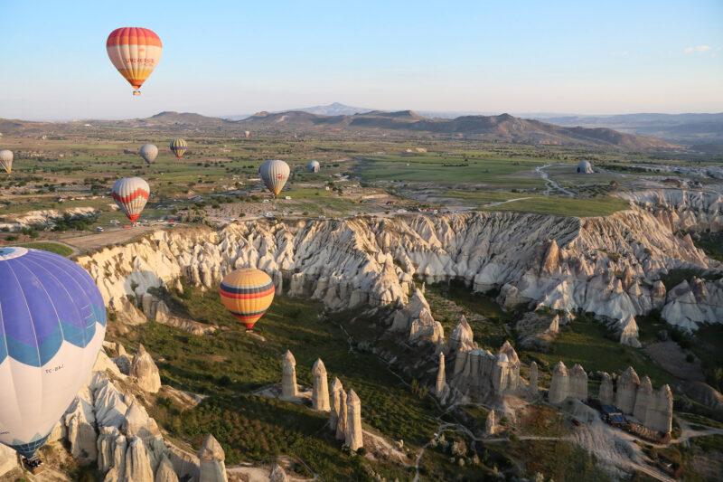 Turkije reisverslag: Magische ballonvaart - Met de ballon boven Cappadocië