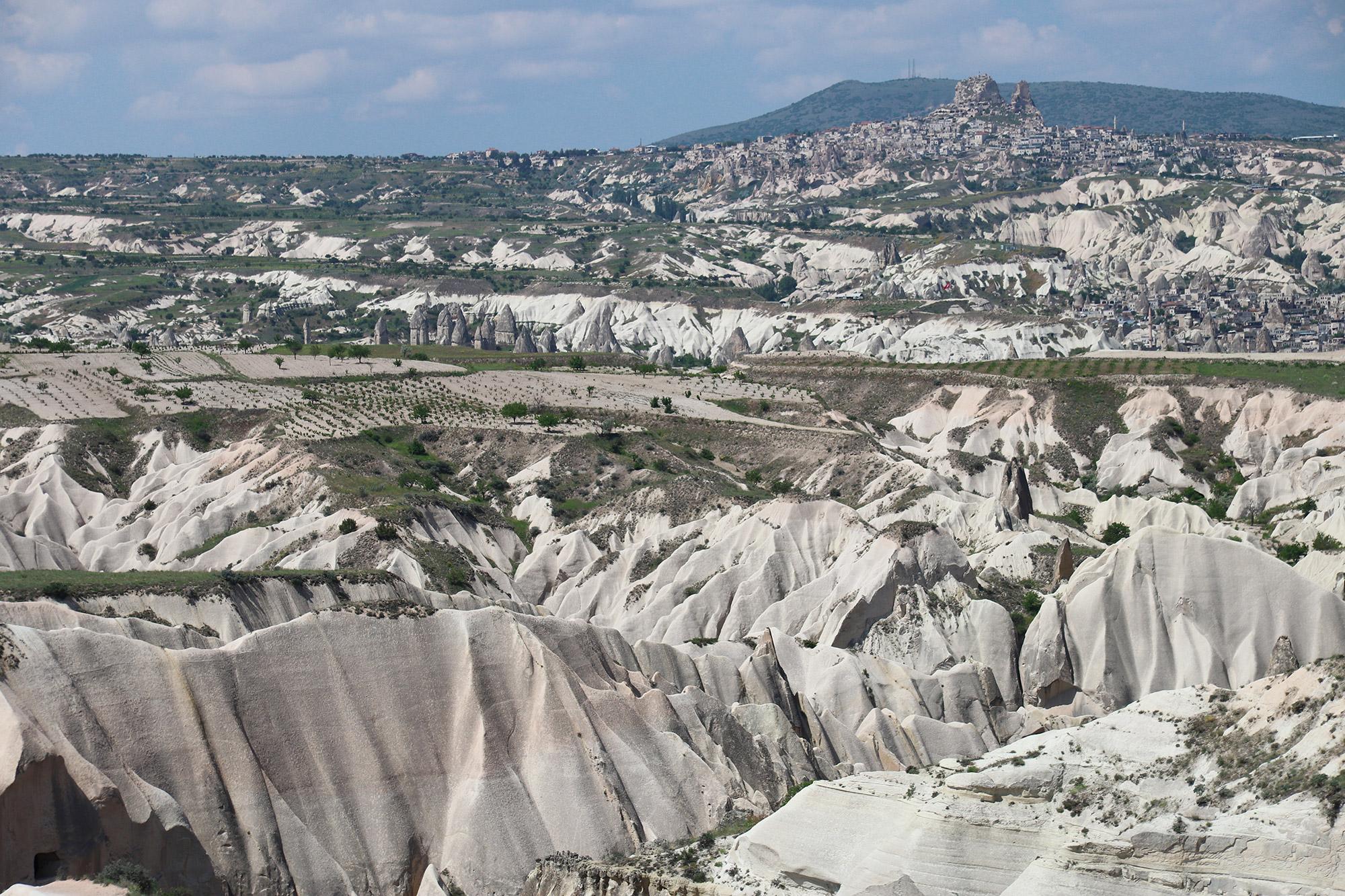 Turkije reisverslag: Terug in Cappadocië - Kızılçukur Vadisi