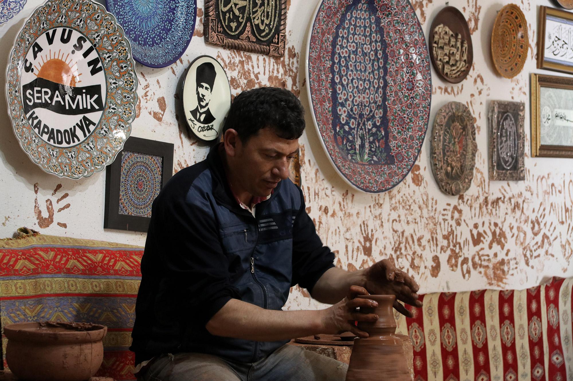 Turkije reisverslag: Terug in Cappadocië - Potterij