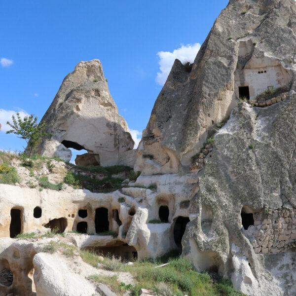 Turkije reisverslag: Terug in Cappadocië - Uçhisar