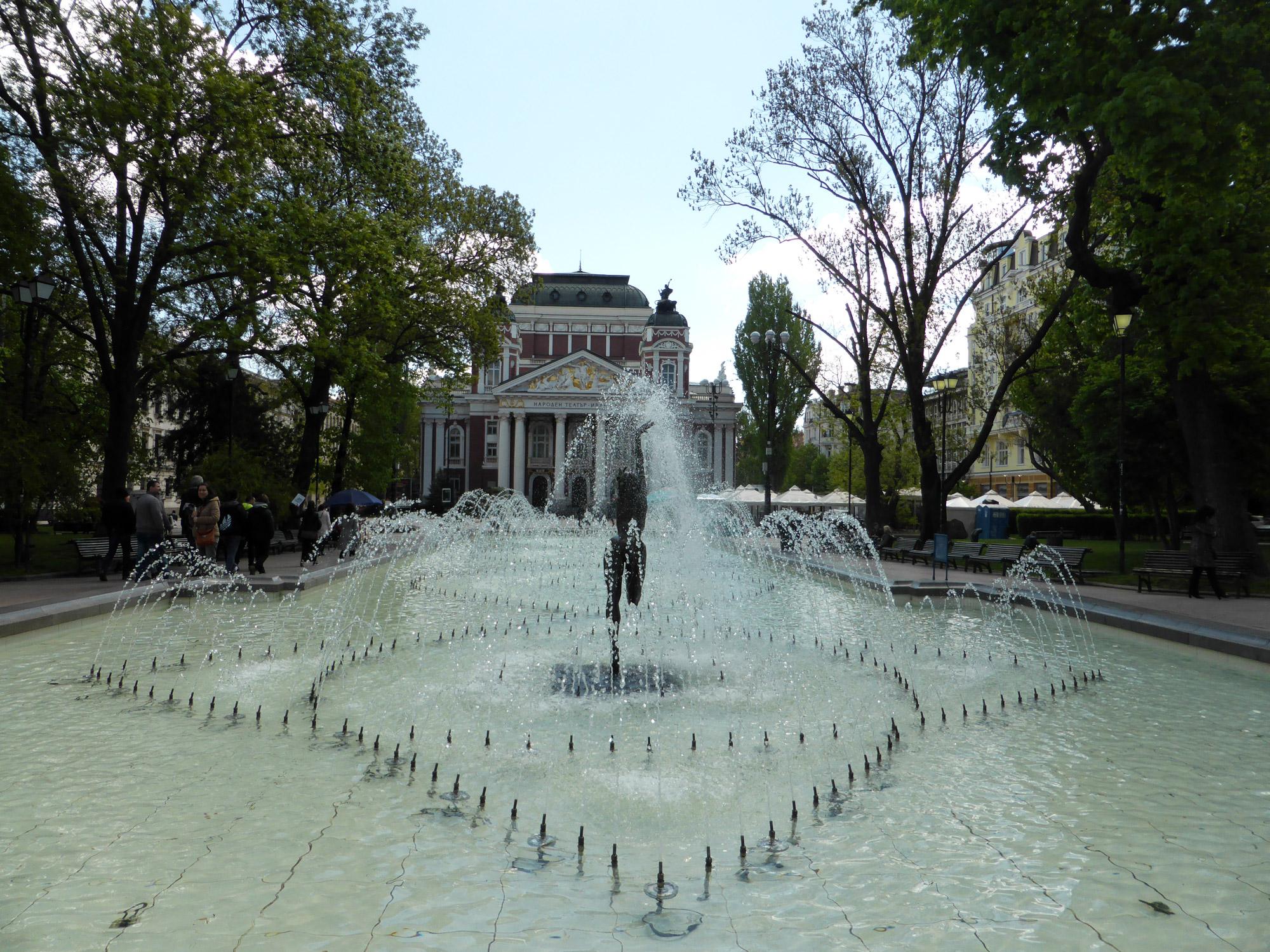 Weekendje Sofia in 10 Beelden - Fontein Stadspark