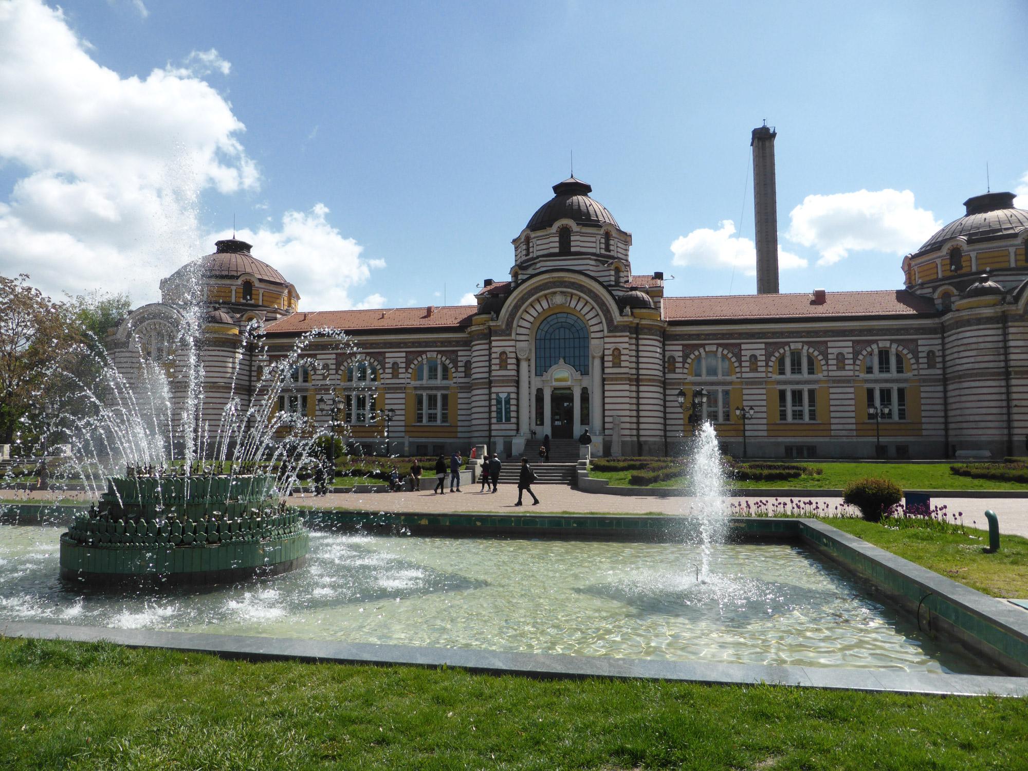 Weekendje Sofia in 10 Beelden - Mineraalbronnen