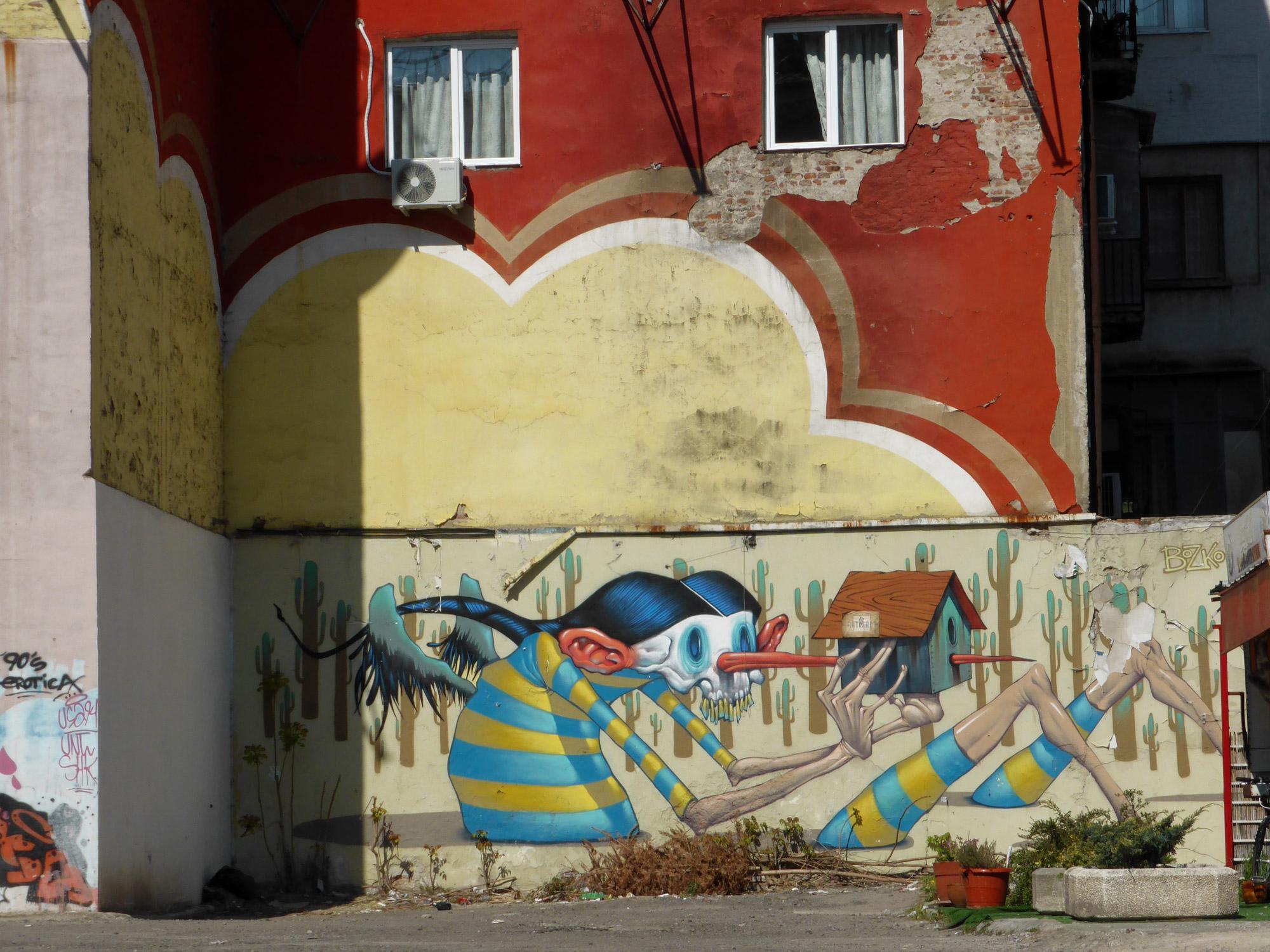 Weekendje Sofia in 10 Beelden - Muurschilderingen