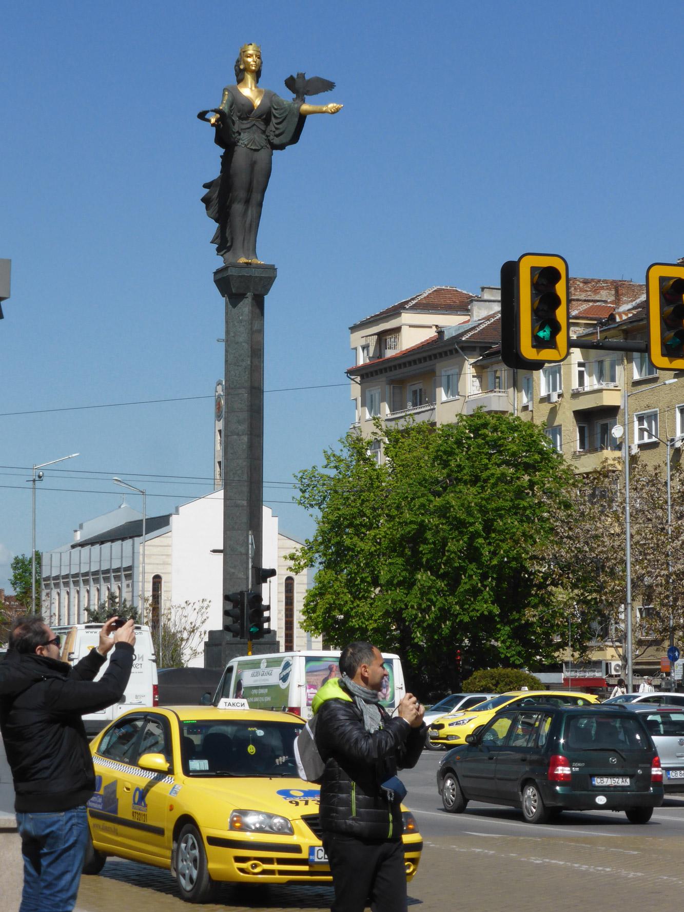 Weekendje Sofia in 10 Beelden - Sint Sofia Monument