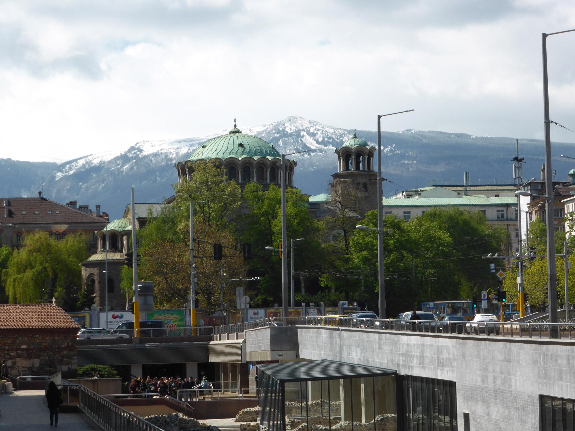 Weekendje Sofia in 10 Beelden - Uitzicht op de Vitosha