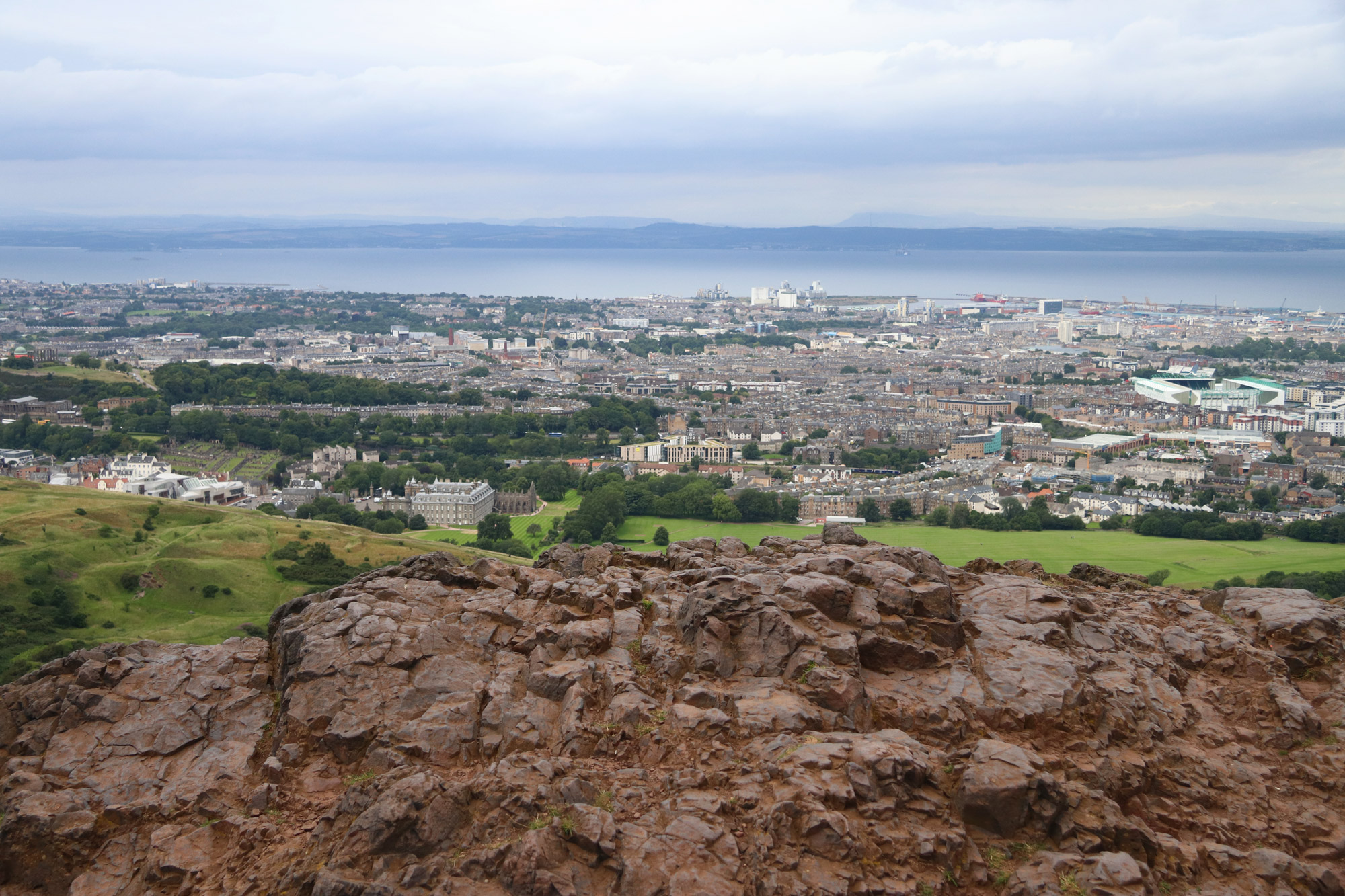 Mannenweekend Edinburgh - Arthur's seat