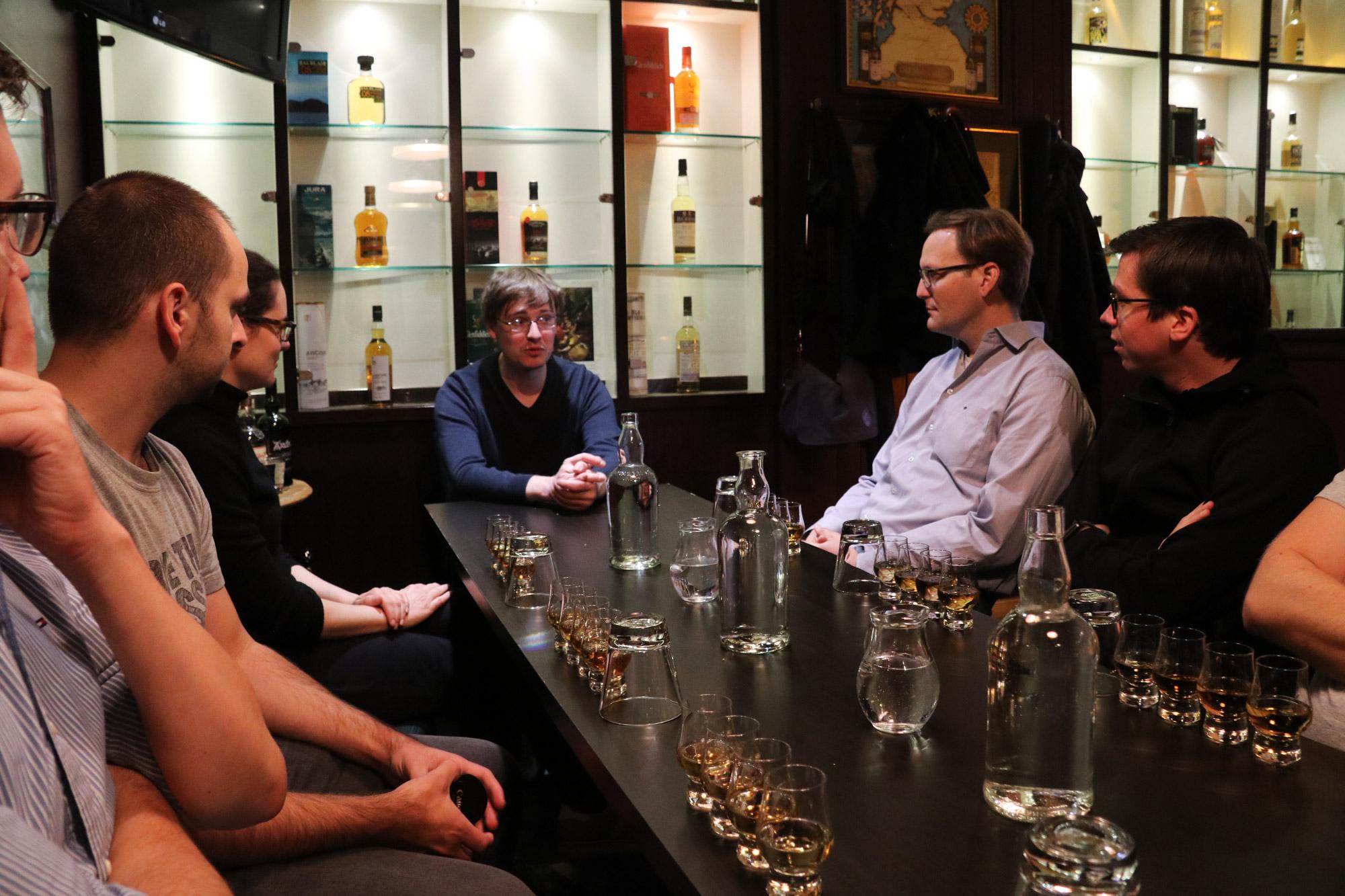 Mannenweekend Edinburgh - Whisky proeverij