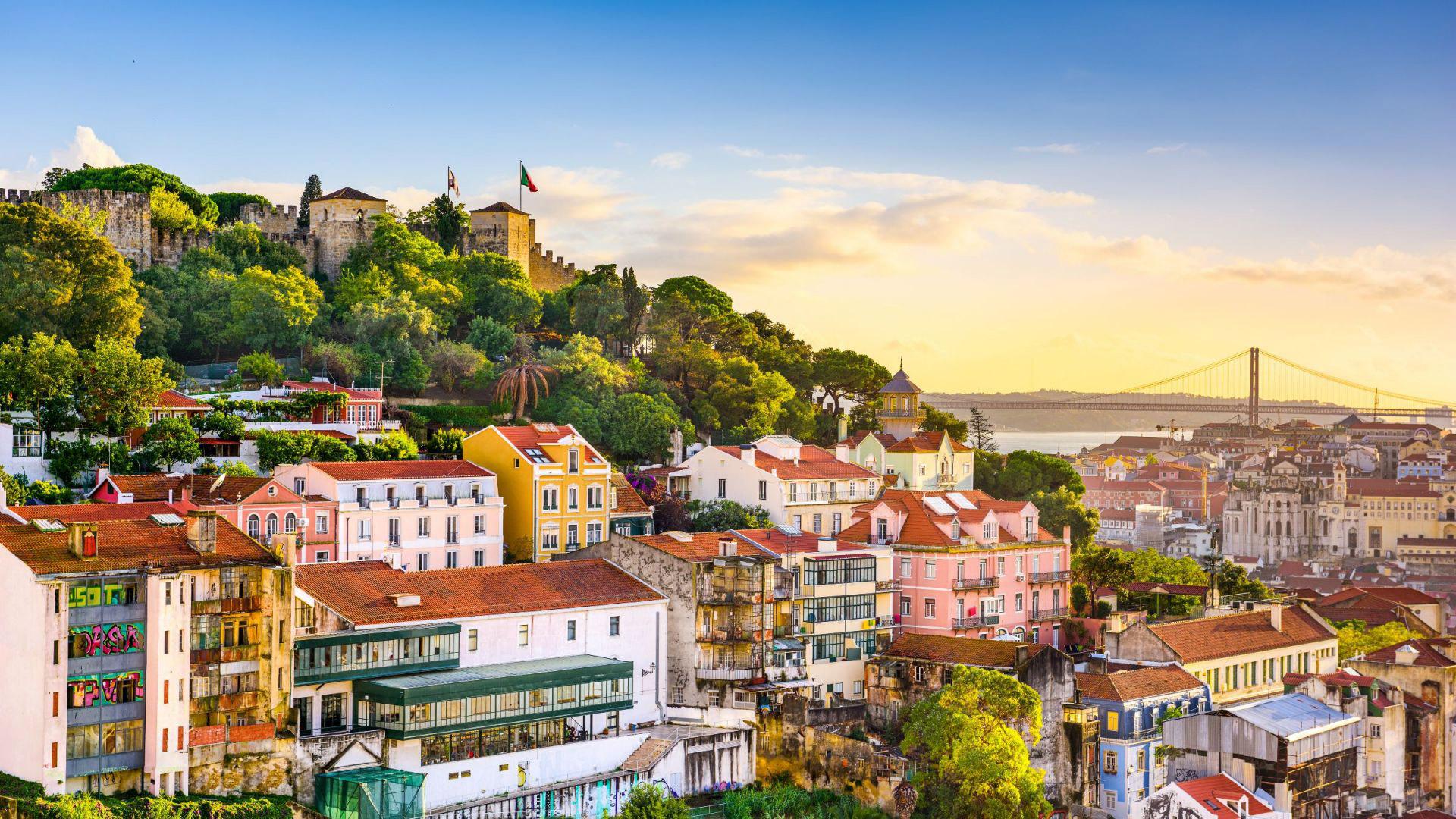 Op reis met de camper door Portugal - Lissabon