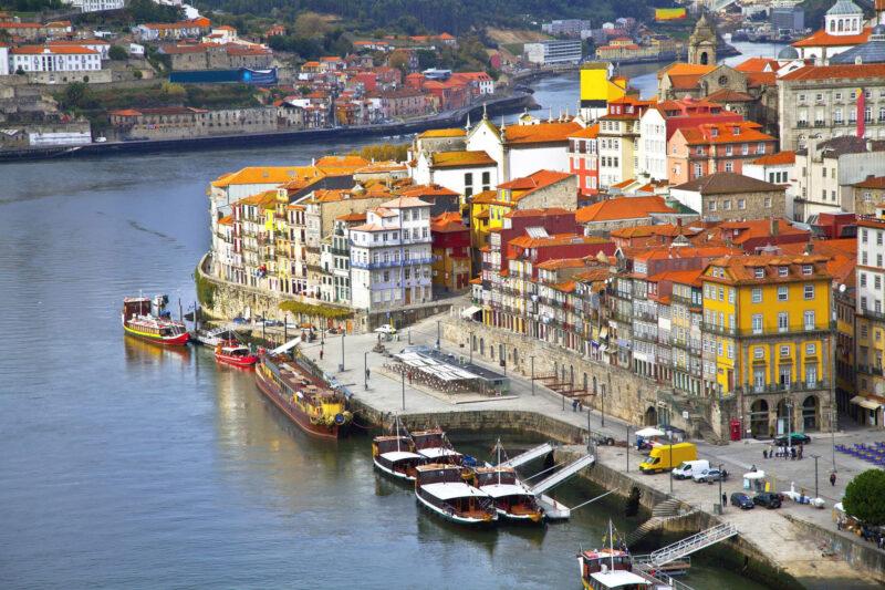 Op reis met de camper door Portugal - Porto
