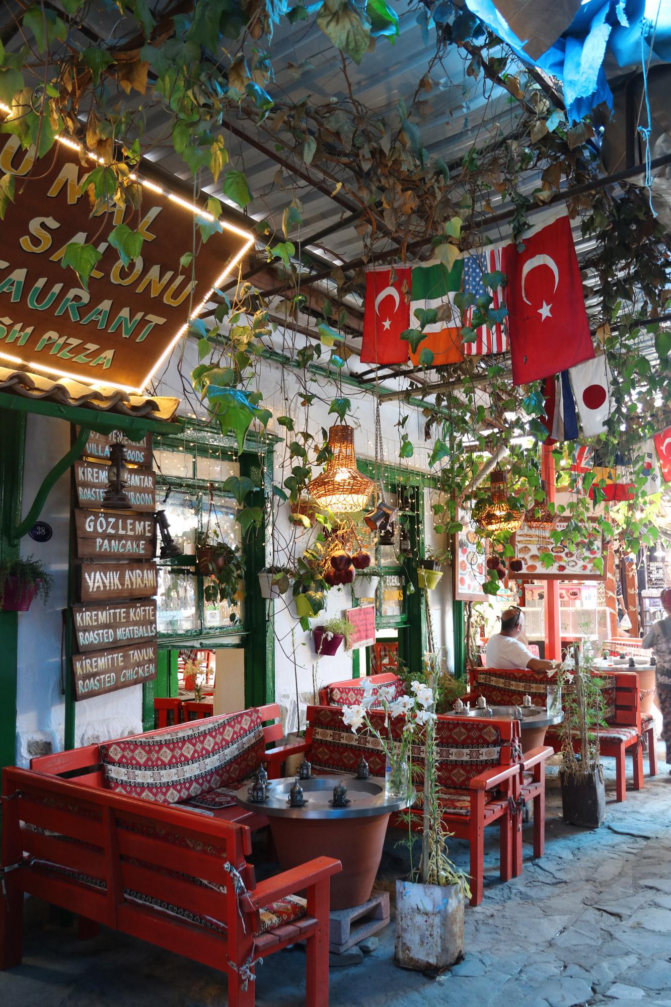 Turkije reisverslag: Efeze en Şirince - Bazaar van Şirince